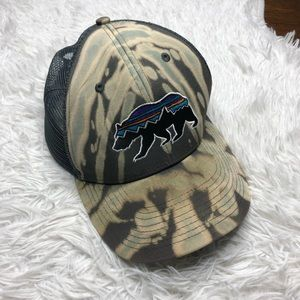 Patagonia Bleached/Distressed SnapBack Hat